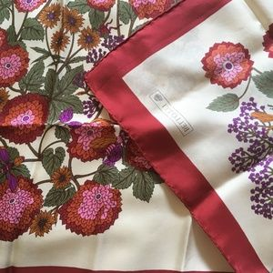 Fabio Bellotti of Rainbow, Milan Accessories - Fabio Bellotti Silk Scarf Red, Purple and Pink
